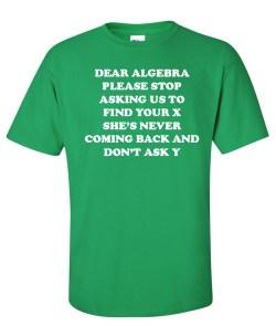 dear algebra green