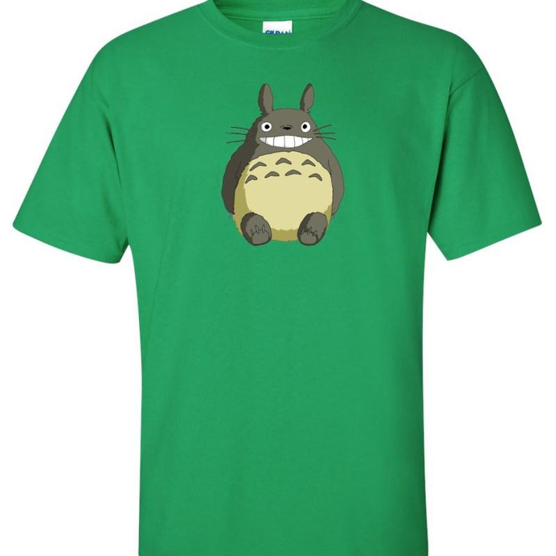 My Neighbor Totoro Logo Graphic T Shirt - Super Graphic Tees