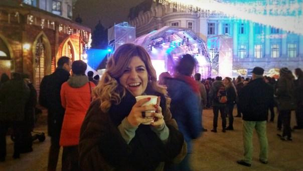 SuperGulia la Bucharest Christmas Market