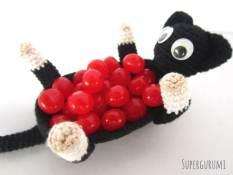 Amigurumi Cat Candy Basket