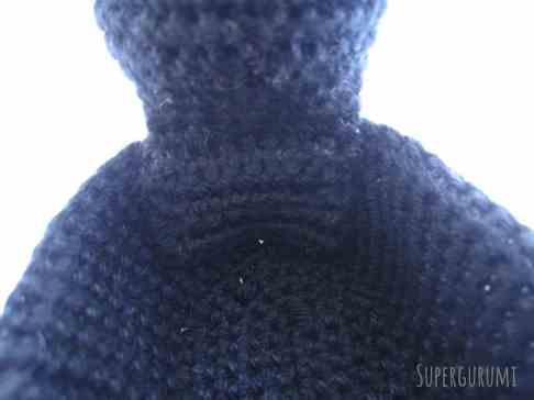 Crochet Cat Basked Head Sewed On