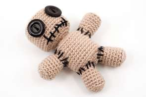 Amigurumi Voodoo Doll Pincushion Crochet Pattern
