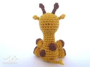Crochet Giraffe Backside