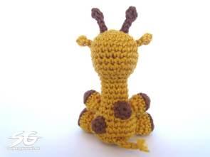 Crochet Giraffe Backside