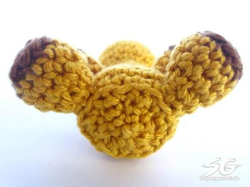 Crochet Giraffe Bottom