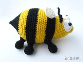 Bee Crochet Pattern