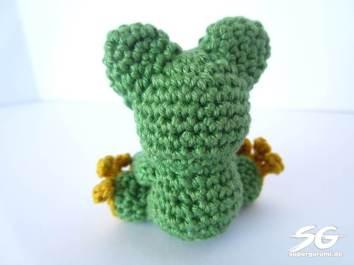 Crochet Frog Back