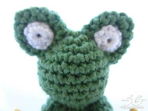 Frog Eyes Detail