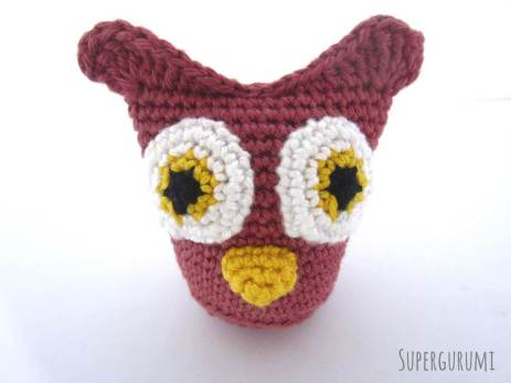 Sew On Owl Beak Detail