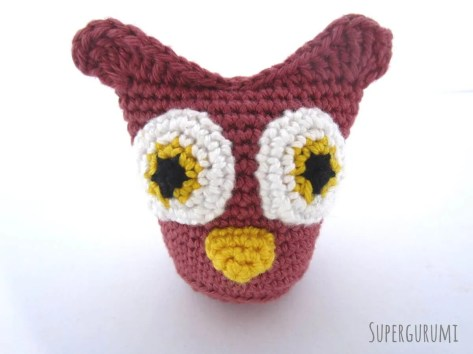 Sew On Owl Beak Detail