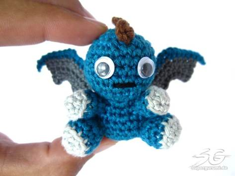 Tiny Crochet Dragon