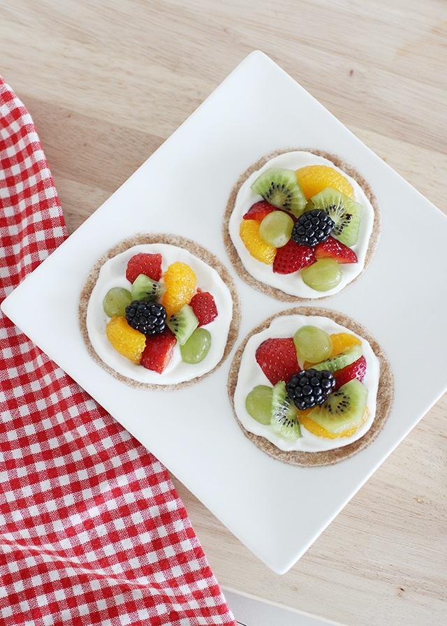 healthy fruit pizza recipe