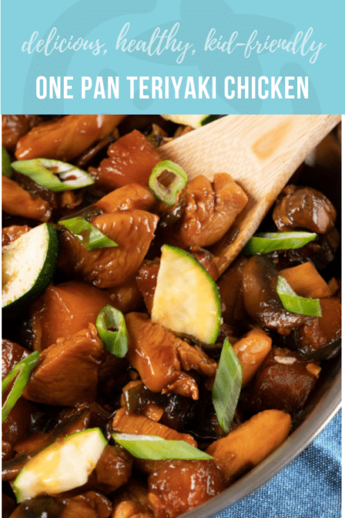 One Pan Teriyaki Chicken | Kid Friendly Dinner | Healthy Recipes and Ideas for Kids