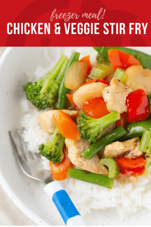 Freezer Meal: Chicken and Veggie Stir Fry | Healthy Ideas and Recipes for Kids | Super Healthy Kids