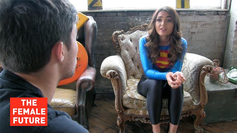 A new Supergirl! - Superheroine Blog