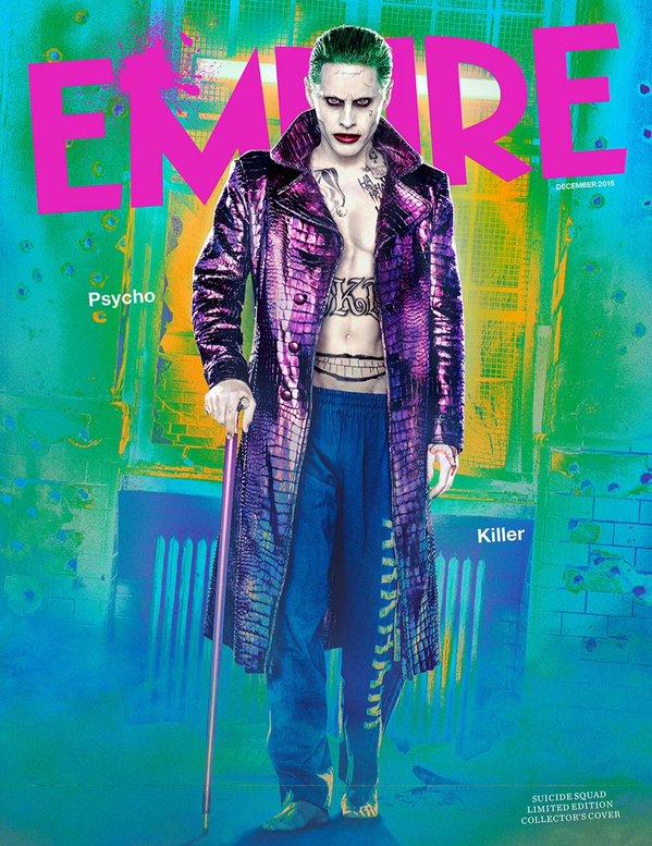 Joker Suicide Squad Empire Magazine Cover