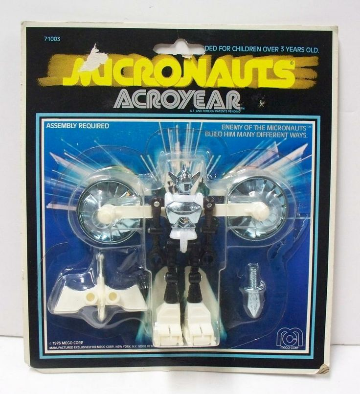 Micronauts Acroyear in Package