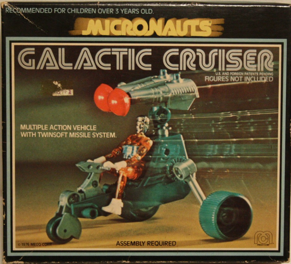 micronauts Galactic Cruiser Package