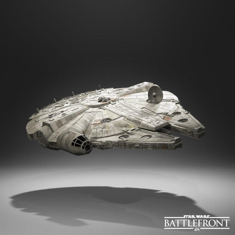 Star Wars Battlefront - Millenium Falcon