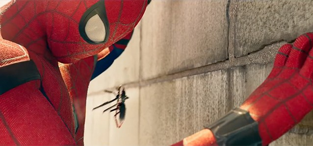 Spider-Man Homecoming Suit Spider Tracer