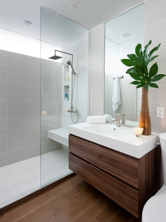 15 Great Modern Bathroom Designs For Small Spaces
