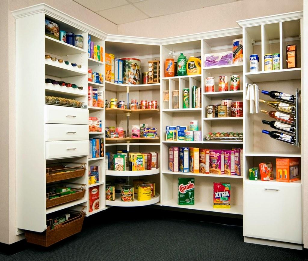 Walk In Pantry Organization Ideas
