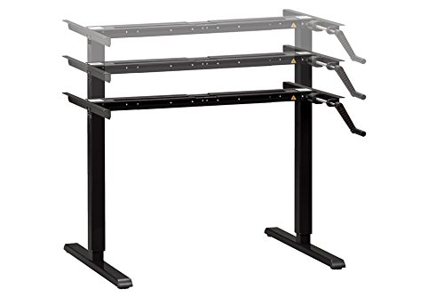 MultiTable ModTable Adjustable Height Standing Desk with Manual Base