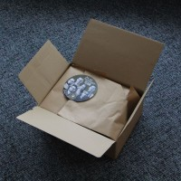 Das Paket ist geöffnet