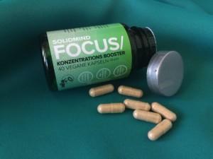 SOLIDMIND Nutrition Focus Dose geöffnet