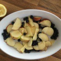 Brainfood Rezept: Blaubeeren Streuselkuchen - Schritt 01