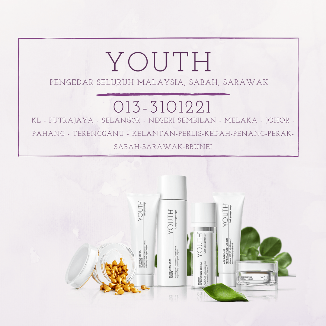 PENGEDAR YOUTH SHAKLEE MALAYSIA, YOUTH SHAKLEE SKIN CARE, SKIN CARE YOUTH SHAKLEE, SKINCARE SHAKLEE YOUTH