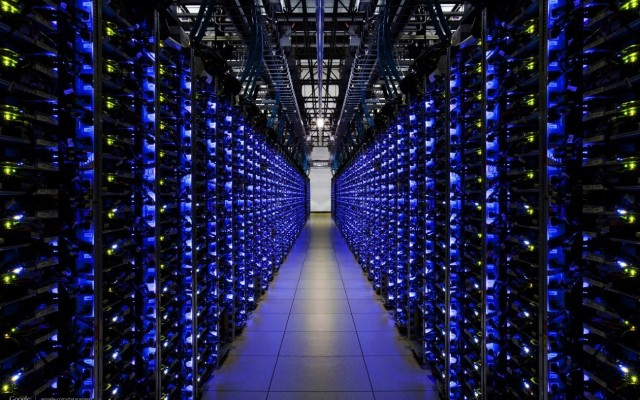 Resimde gördüğünüz Google'ın veri merkezi değil Çin'de bulunan bir Bitcoin Çiftliği