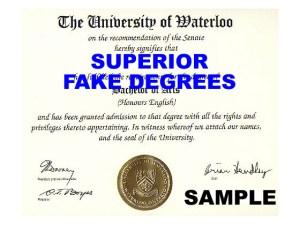 Superior fake degree