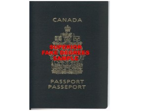 Sample Fake Passport