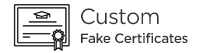 Custom Fake Certificate
