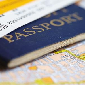 Fake British passport