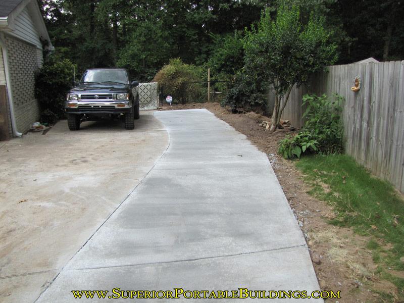 Concrete Driveway Widening 8