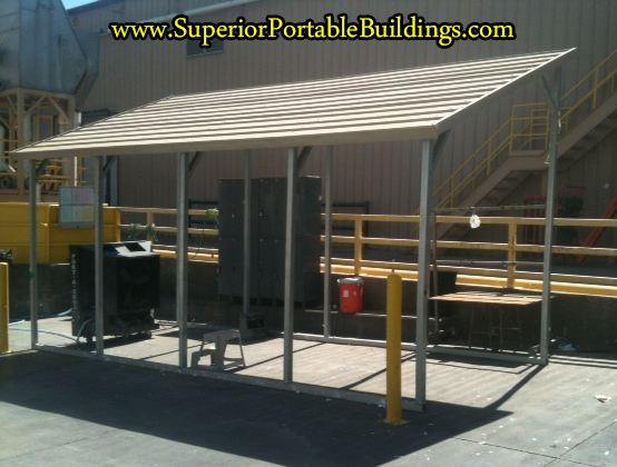 Superiors Buildings Metal Awning 2