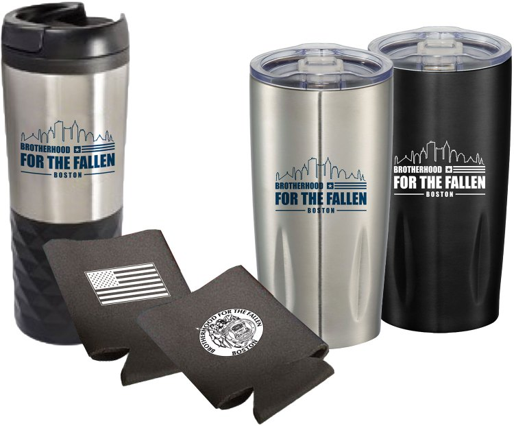 Brotherhood For The Fallen | Promotional Items | Custom Drinkwear | Branding