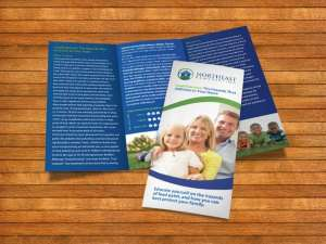 Northeast Remediation Trifold Design | Superior Promotions
