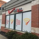 Verizon Wireless Window Display