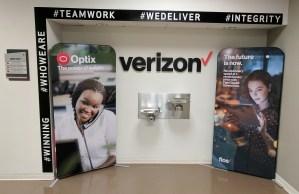 Verizon Banner Stands | Digital Printing | Boston, Medford