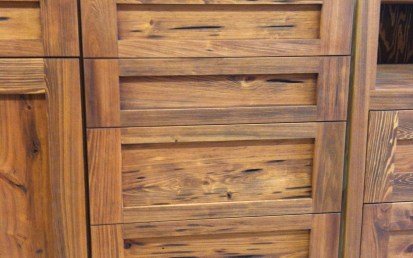 Kitchen Cabinets Ideas pecky cypress kitchen cabinets : Superior Woodcraft | A Sneek Preview from Our Cabinet Shop - Pecky ...
