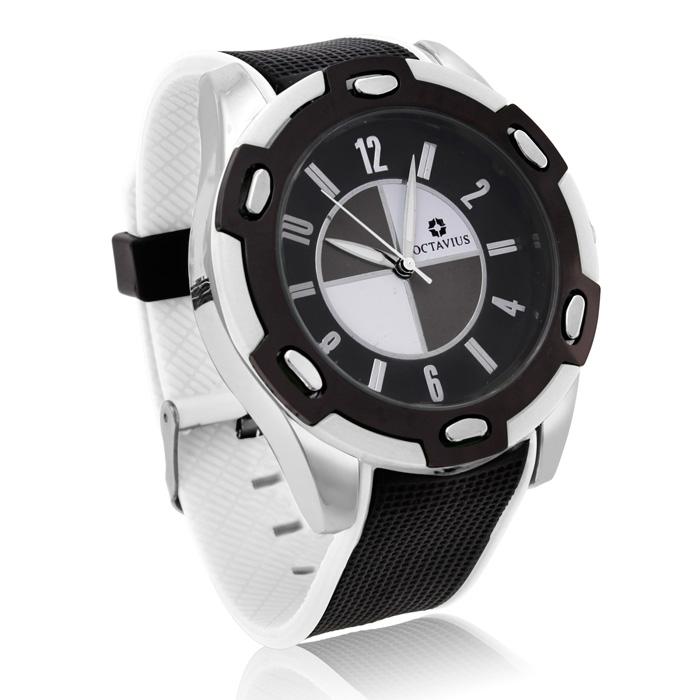 Octavius Men's Formula II Watch - White
