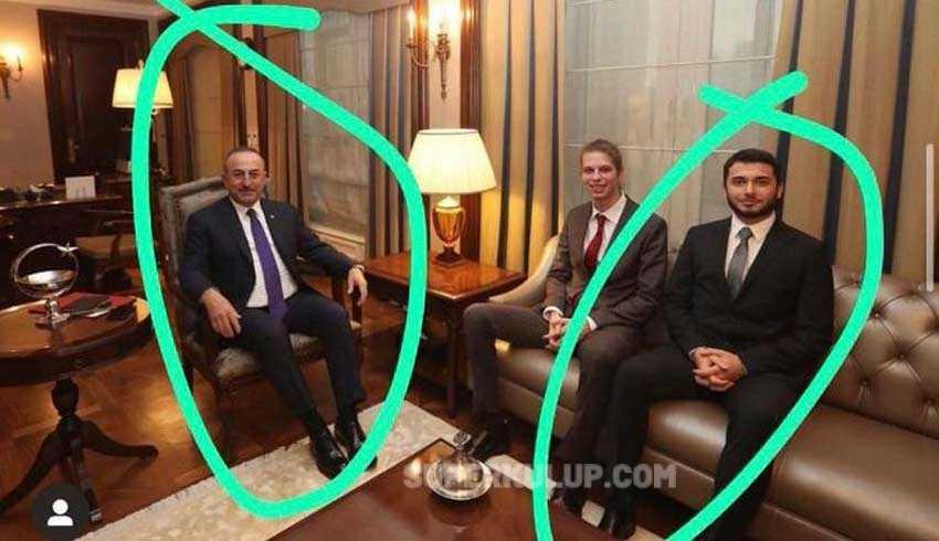Mevlüt Çavuşoğlu, 2 Milyar Dolarla kaçan Faruk Fatih Özer'le çekilen fotoğraf için ne dedi?