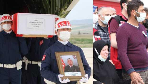 Şehit Uzman Onbaşı Hüsamettin Gökçe'nin cenazesi Amasya'da
