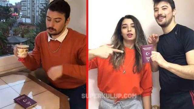 TikTok'ta Türk pasaportunu aşağılayan bir video çekip paylaştılar