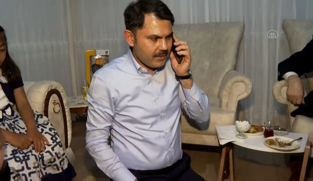Başkan Erdoğan, Elazığlı depremzede aileyle telefonda görüştü