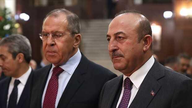 Çavuşoğlu ve Lavrov'dan İsrail'e kritik Filistin çağrısı