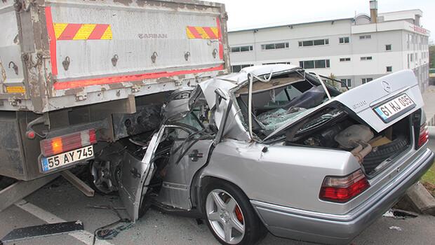 Ordu'da korkunç trafik kazası